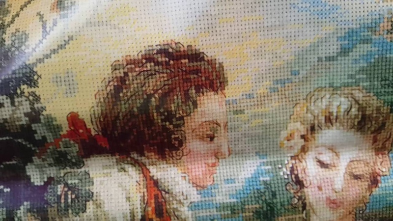 Вышивка крестом Покупки с сайта Рукоделов ру