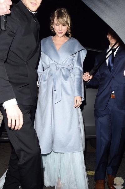 Вместо Grammy: Тейлор Свифт поддержала возлюбленного на премии BAFTA