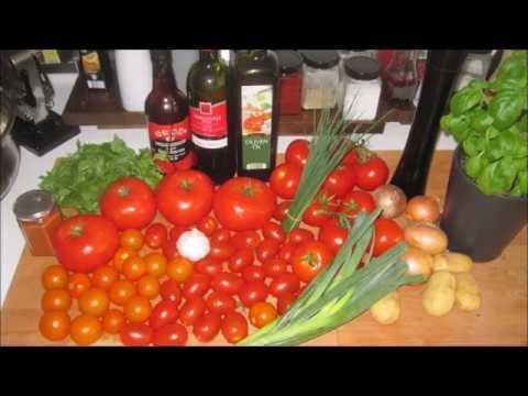 Tomaten Suppe. Рецепт приготовления томатного супа.
