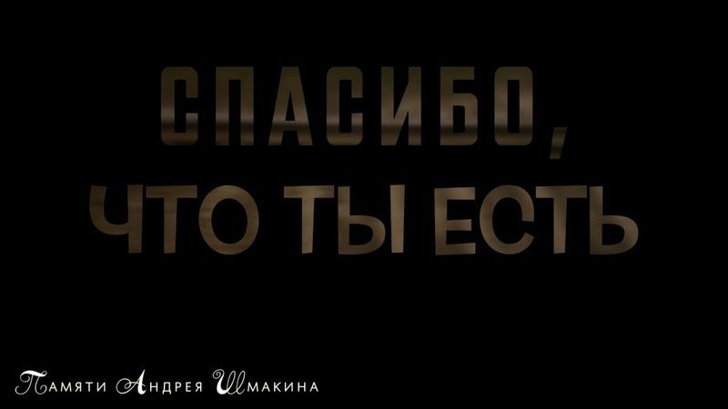 Трейлер 2 Спасибо, что ты ЕСТЬ к документальному фильму памяти Андрея Шмакина