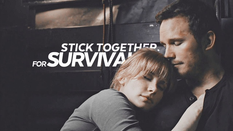 Stick together for survival jurassic world claire owen
