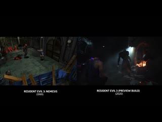 Resident evil 3 remake —сравнение с оригиналом