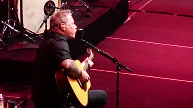 Metallica-Hardwired To Self Destruct Acoustic at The Masonic SF 11/3/2018