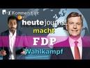 ZDF Erklärung zum FDP Skandal ist ein SKANDAL | KOMMENTAR 451 Grad