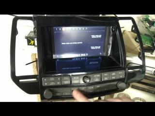 Nissan Maxima VI (a34) 2003-08 - установка штатной мультимедиа образца 2017 года
