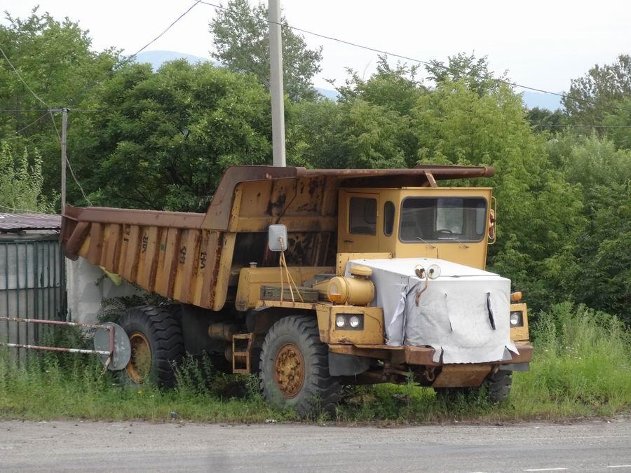 Транспорт Приморья - Август 2018