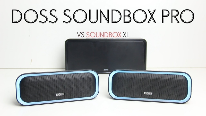 Doss Soundbox Pro Review Compared to the Soundbox XL