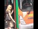 Когда твой автобус подъехал а ты только закурил сигарету 😂