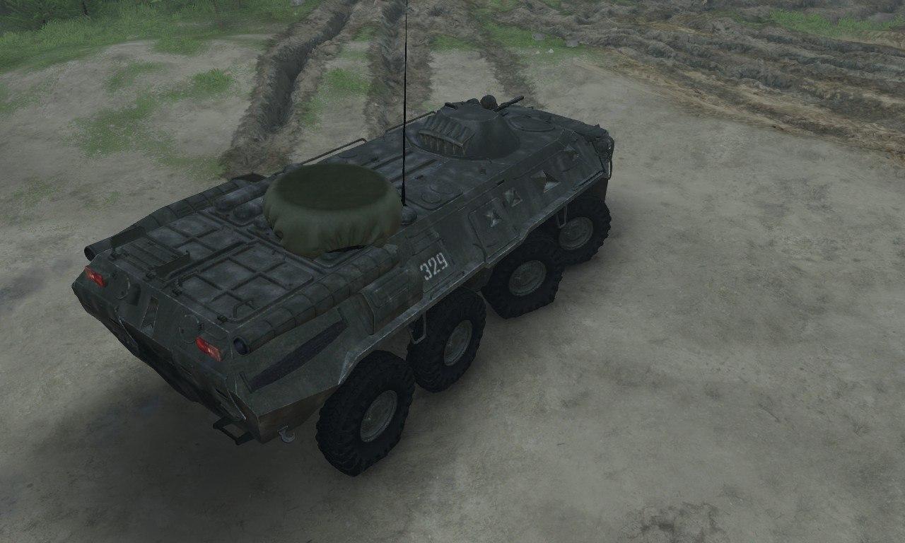 BTR-80 для 03.03.16 для Spintires - Скриншот 2