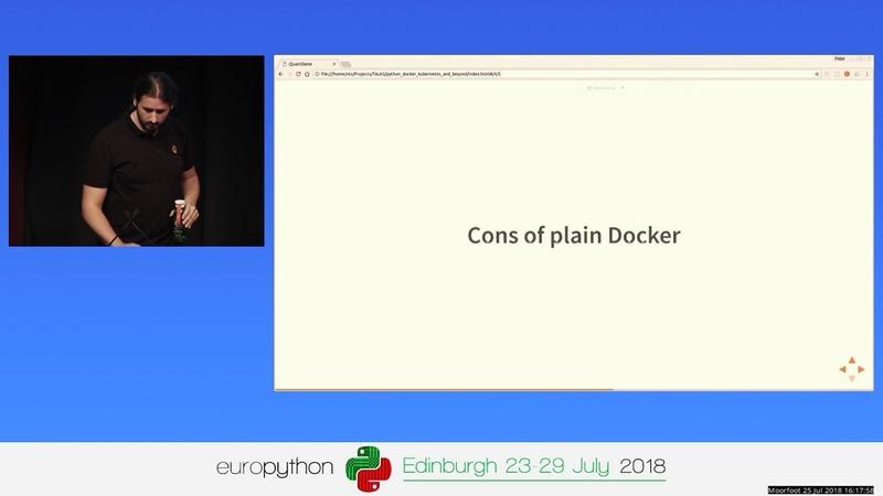 Python, Docker, Kubernetes, and beyond – Peter Babics