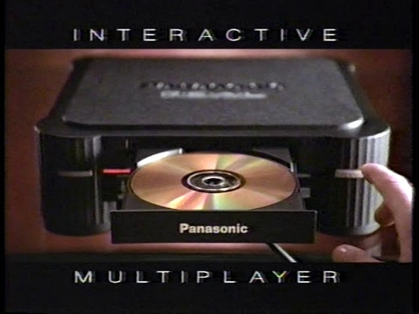 Real 3DO Player Panasonic Video game system 1993