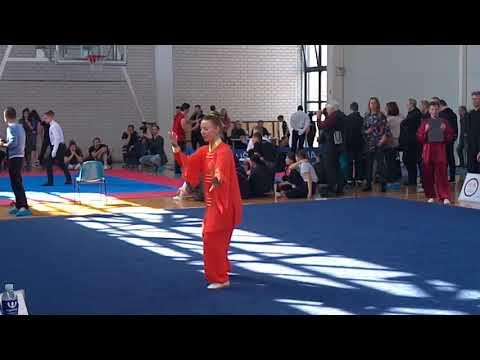 56 forms, The 5th Lithuanian Open Wushu Championship
