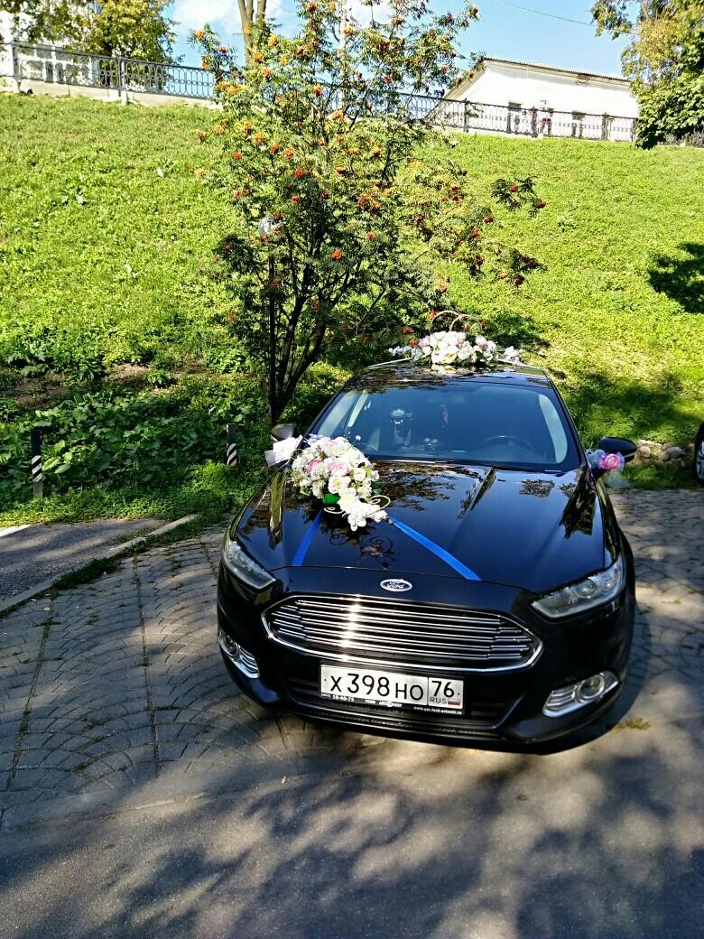 Черный форд мондео на вашей свадьбе