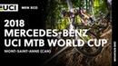 2018 Mercedes-Benz UCI Mountain Bike World Cup - Mont-Saint-Anne (CAN) / Men XCO