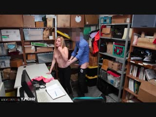Alexa raye [ blondes &  in the office &  rape / rider , robber , cumshot in mouth]