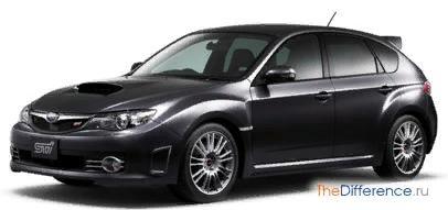 Разница между Subaru Impreza WRX и WRX STI Этот вопрос интересует не только отъявленных субароводов, но и их заклятых врагов владельцев Мицубиси Лансер. Связано это с тем, что Impreza WRX