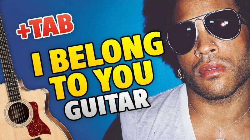 Lenny Kravitz – I Belong To You (fingerstyle guitar cover)