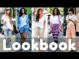 Summer White Tshirt Outfit Ideas  Tshirt Dresses  Fashion Lookbook 2018