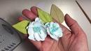Foamiran leaves