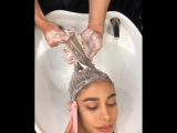 Ужас! Мастер спас девушке волосы!