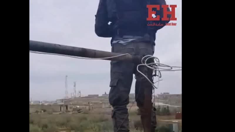 28.12.18 - на крыше российско-сирийского координационного центра в Аль-Арима