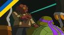 Черепашки Мутанти Ниндзя Нові Пригоди 3 Сезон 2 Серія Космічні Загарбники Частина 2 1080p HD