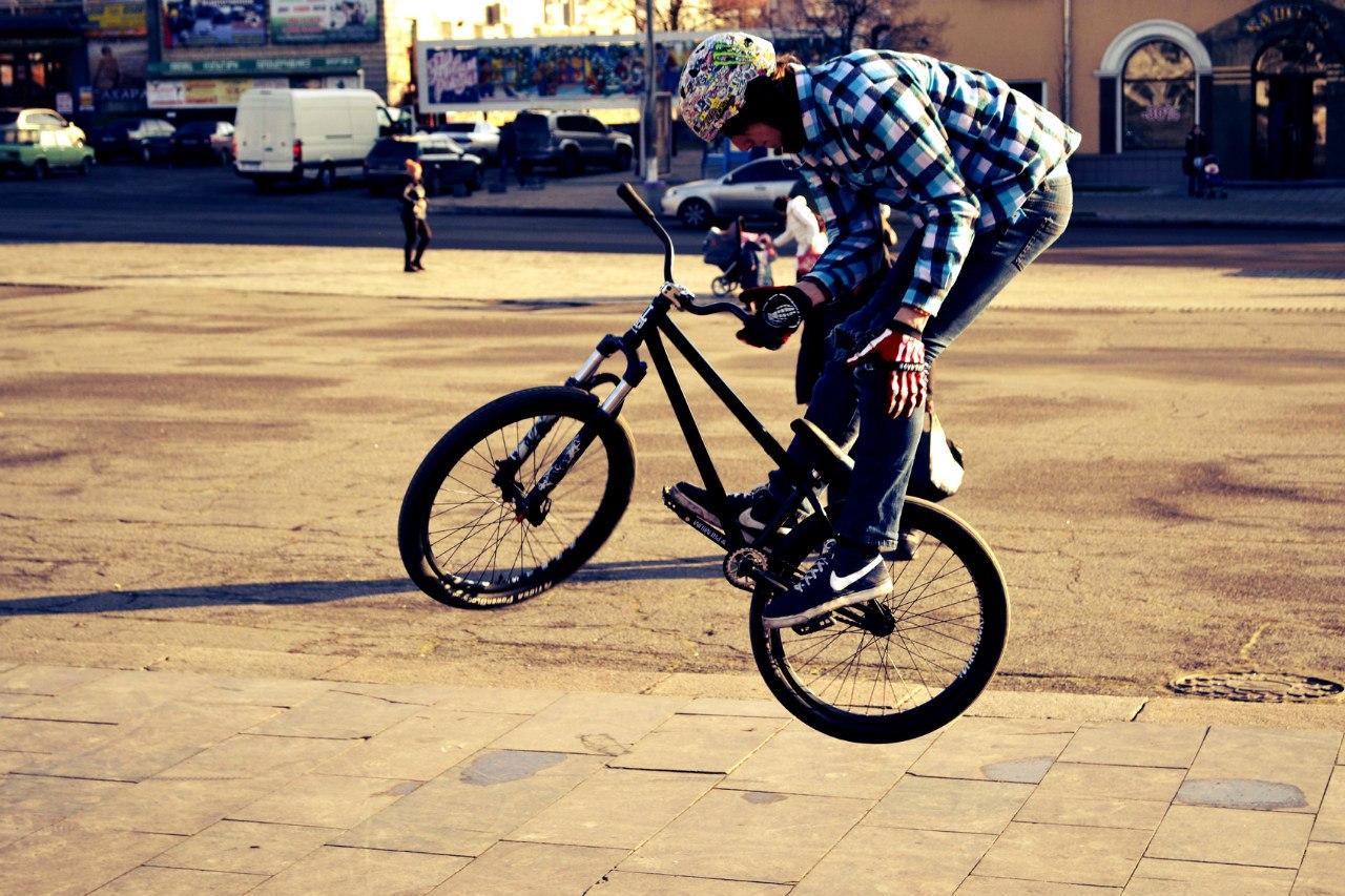 ill bike barspin