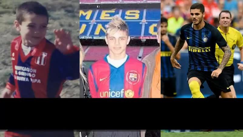Mauro Icardi Transformation From 5 to 25 Years Old
