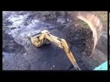 Очистка Малоневского канала в г. Шлиссельбурге
