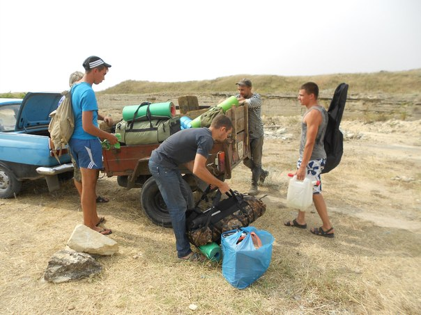 Военно-археологическая экспедиция - Аджимушкай-2013 -ePuTSMr2yk