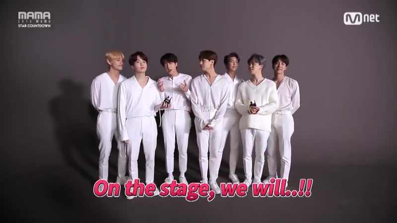[2018MAMA] Self-Spoiler by BTS - BTS will rock Japan Hong Kong, so dont miss even one MAMA