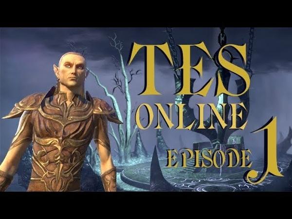 TES Online серия 1 Душелишённый в Хладной Гавани