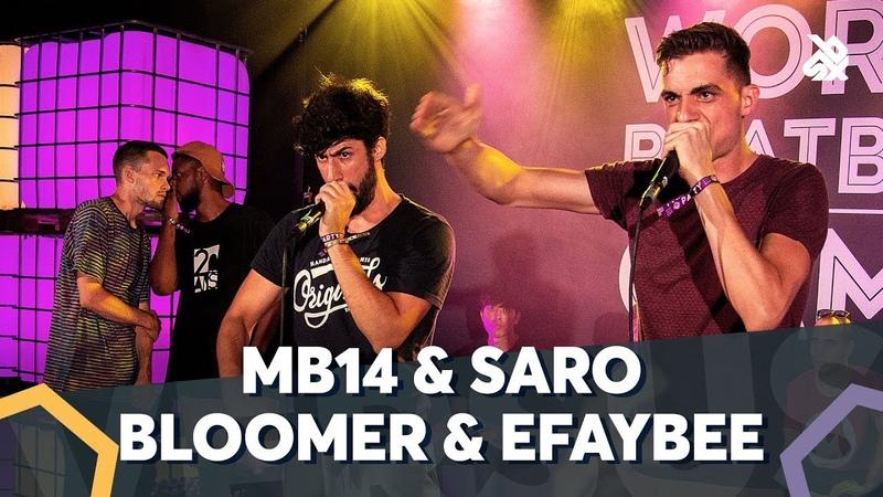 MB14 SARO VS BLOOMER EFAYBEE | WBC TAG TEAM BATTLE | Semi Final
