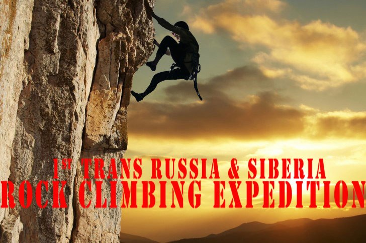 First trans-Russia and Siberia Rock Climbing Expedition 03-10 2015