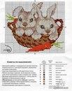 У меня сложилась традиция - близким вышивать в подарок на Новый год символ года.Если у кого-то есть схемки кроликов...