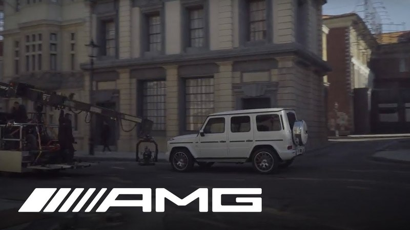 Mercedes-AMG G 63 Behind the Scenes of the Film