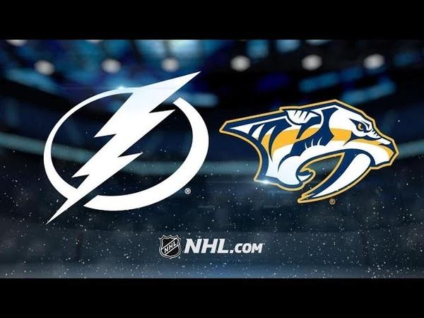 Tampa Bay Lightning vs Nashville Predators   Nov.19, 2018   Game Highlights   NHL 2018/19   Обзор