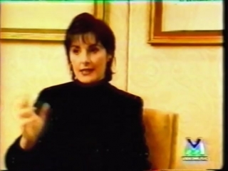 Enya - The Memory Of Trees Interview in Italy (1995)