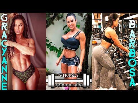 Gracyanne Barbosa workout hard viking bodybuilding