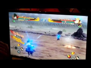 Sasuke vs 2nd Mizukage - Naruto Shippuden Ultimate Ninja Storm Revolution