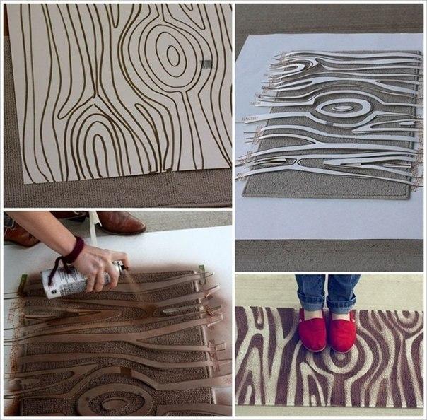 Декорируем коврик