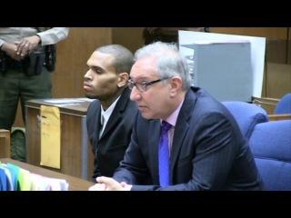Суд отправил Криса Брауна мести улицы после стычки с русской красавицей