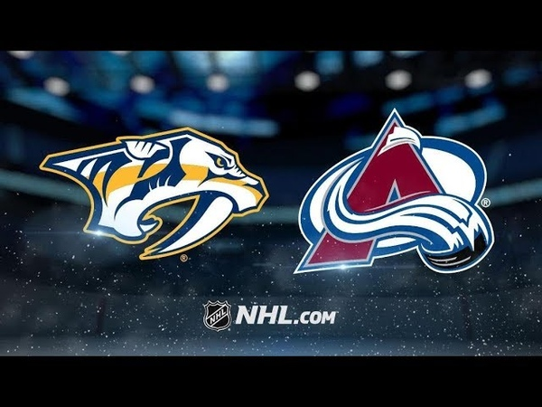 Nashville Predators vs Colorado Avalanche | Jan.21, 2019