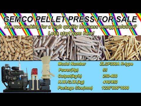 Diesel engine pellet machine, wood pellet mill for sale ( pelletizing)