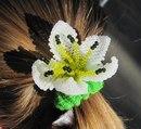 Работа выполнена в технике кирпичного плетения.  Плетение цветков из бисера.  Продолжая цветочную тематику предлагаю...