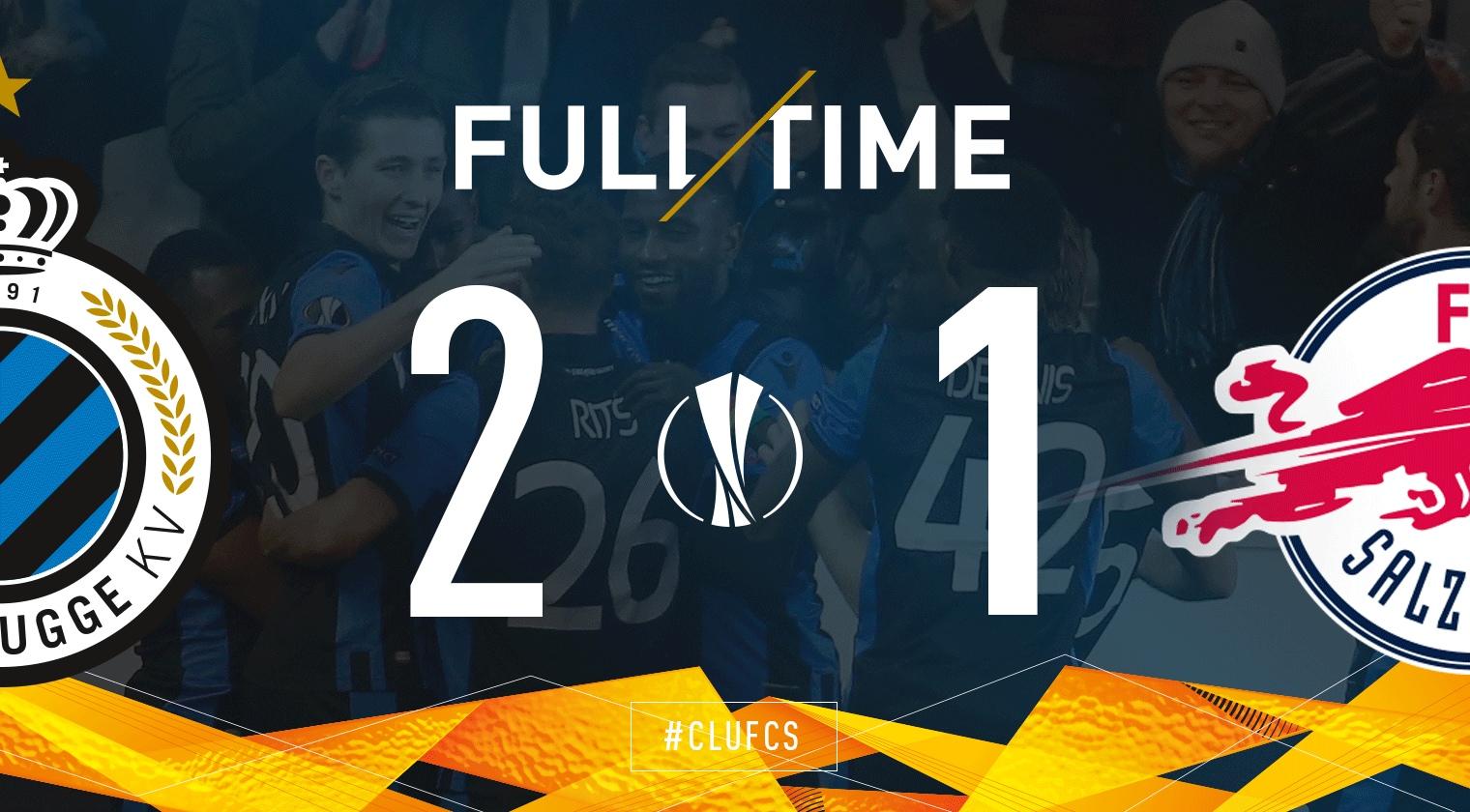 469. Club Brugge KV - RB Salzburg 2:1