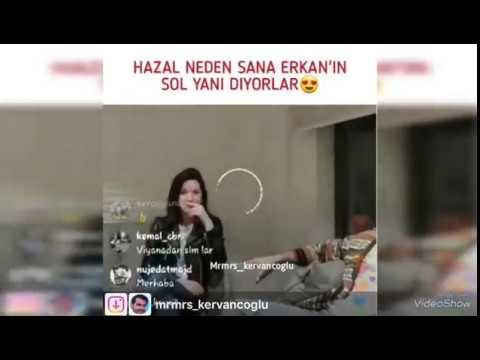 """Hazal Subaşı canlı yayında """"Neden sana Erkanın sol yanı diyorlar"""" sorusuna bakın ne cevab verdi"""