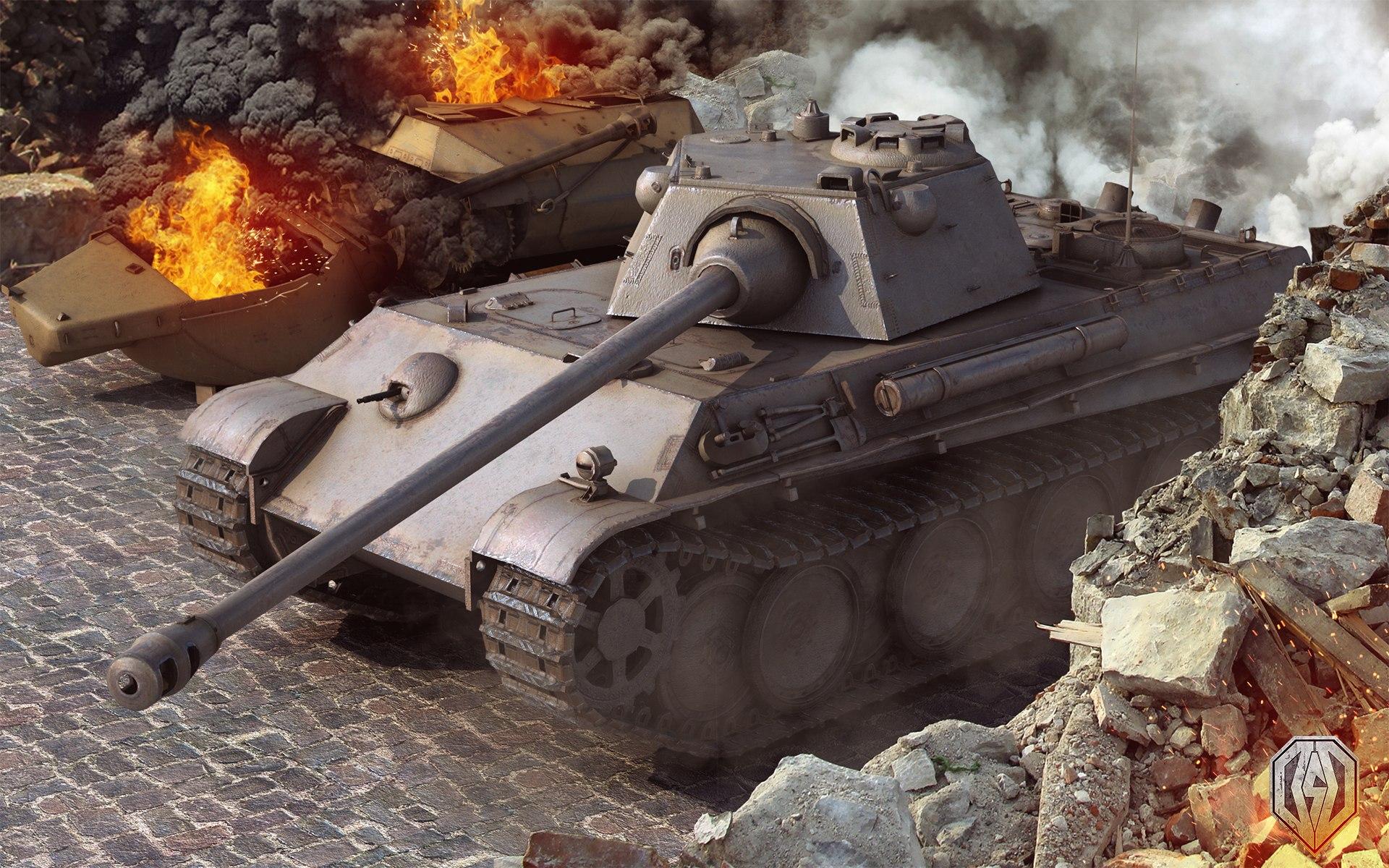 рисунок Panther Ausf. F