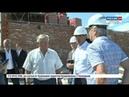 Михаил Игнатьев проинспектировал ход строительства самой крупной школы Чебоксар