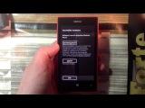 Распаковка и мини-обзор Nokia Lumia 520 (18.07.2013)